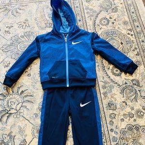Other - Nike little boy zip hoodie set